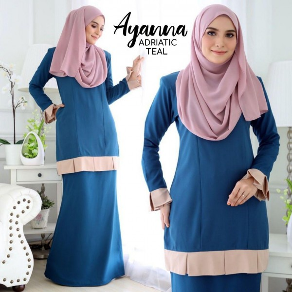 DS02 02 Ayanna - Adriatic Teal