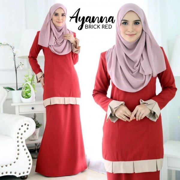 DS02 06 Ayanna - Brick Red