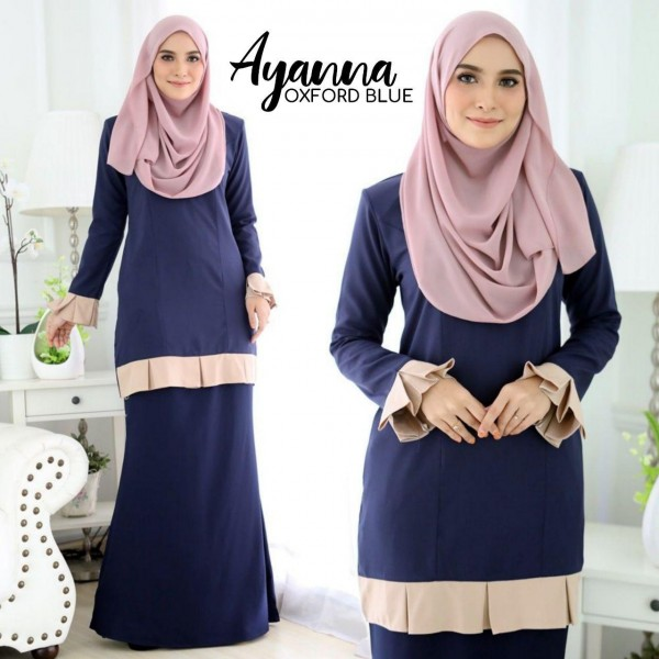 DS02 07 Ayanna - Oxford Blue