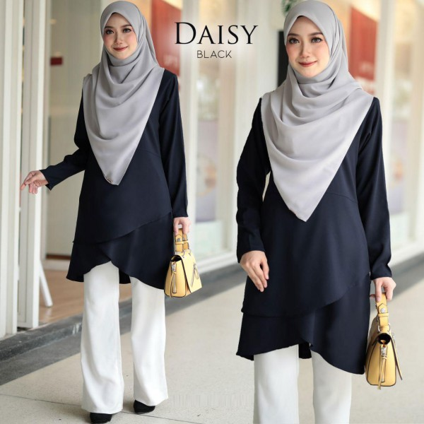 HD01 15 Daisy - Black