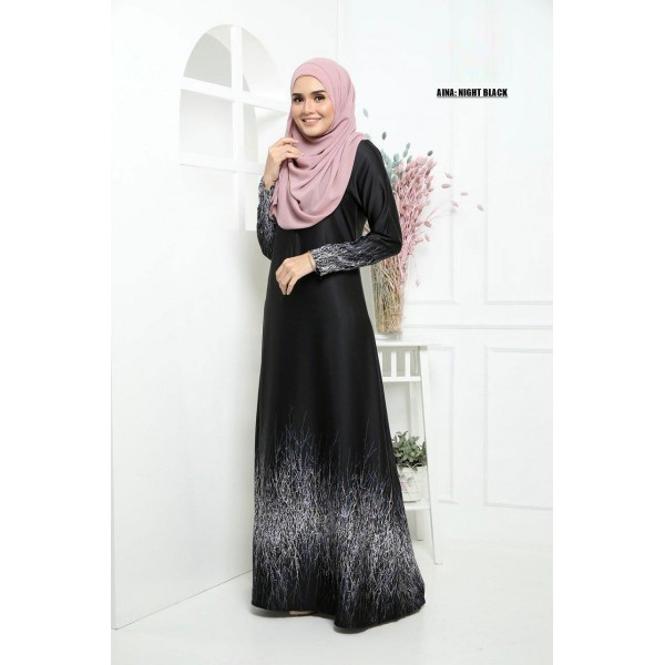 ME01 10 Aina - Night Black