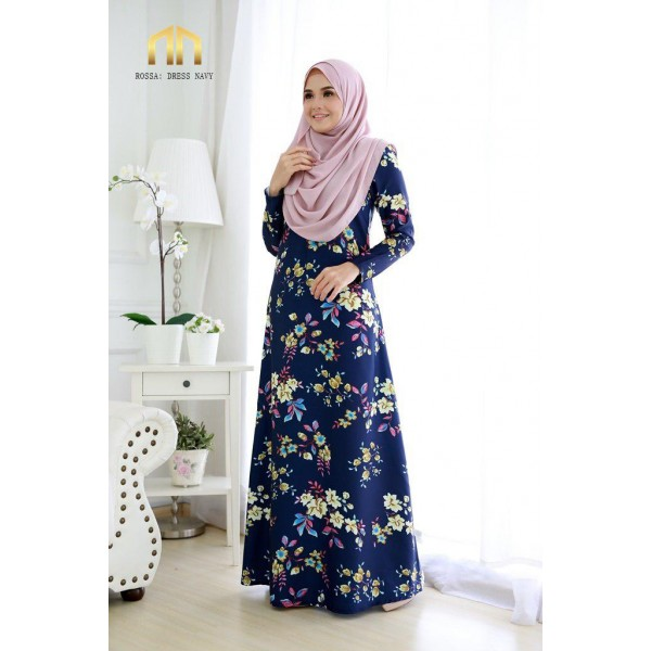 ME06 03 Rossa - Dress Navy