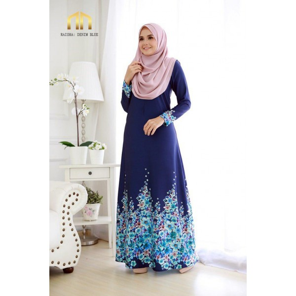 ME07 01 Raisha - Denim Blue